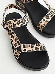 Leopard Velcro Tech Sandal (WW), ANIMAL, alternate