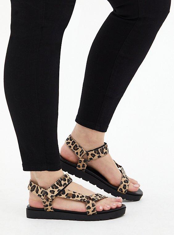 Leopard Velcro Tech Sandal (WW), , hi-res