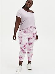 Relaxed Fit Jogger Terry Grape Wash , TIE DYE, alternate