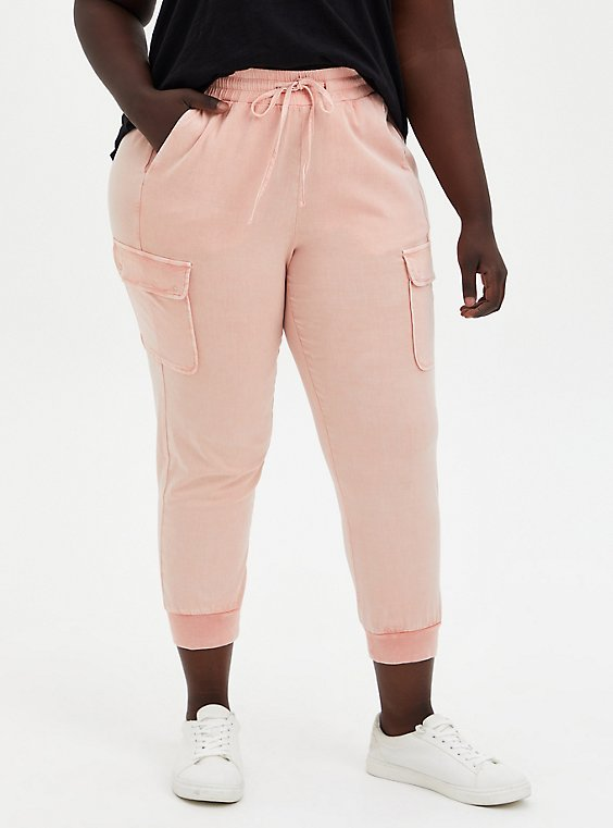 Relaxed Fit Jogger - Challis Pink, PEACH NECTAR, hi-res