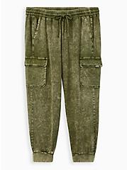 Relaxed Fit Jogger - Challis Olive Green , GREEN, hi-res