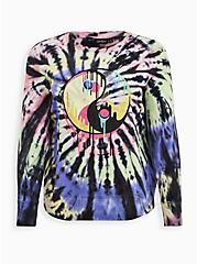 LoveSick Harmony Fleece Multi Tie-Dye Crewneck Sweatshirt , TIE DYE, hi-res