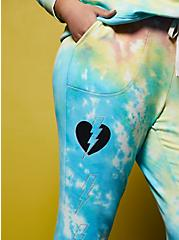 LoveSick Heart Breaker Classic Fit Jogger - Fleece Multi Tie-Dye Jogger  , TIE DYE, alternate