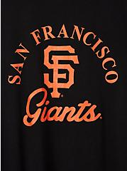 Classic Fit Ringer Tee - MLB San Francisco Giants Black, DEEP BLACK, alternate