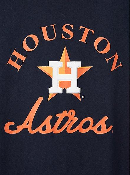 Classic Fit Ringer Tee - MLB Houston Astros Tee Navy, PEACOAT, alternate