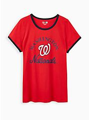 Classic Fit - MLB Washington Nationals Tee Red, RED, hi-res