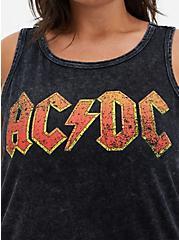 Classic Fit - AC/DC Black Wash Tank, DEEP BLACK, alternate