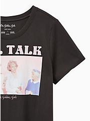Classic Fit - Golden Girls Vintage Black Crew Tee, VINTAGE BLACK, alternate