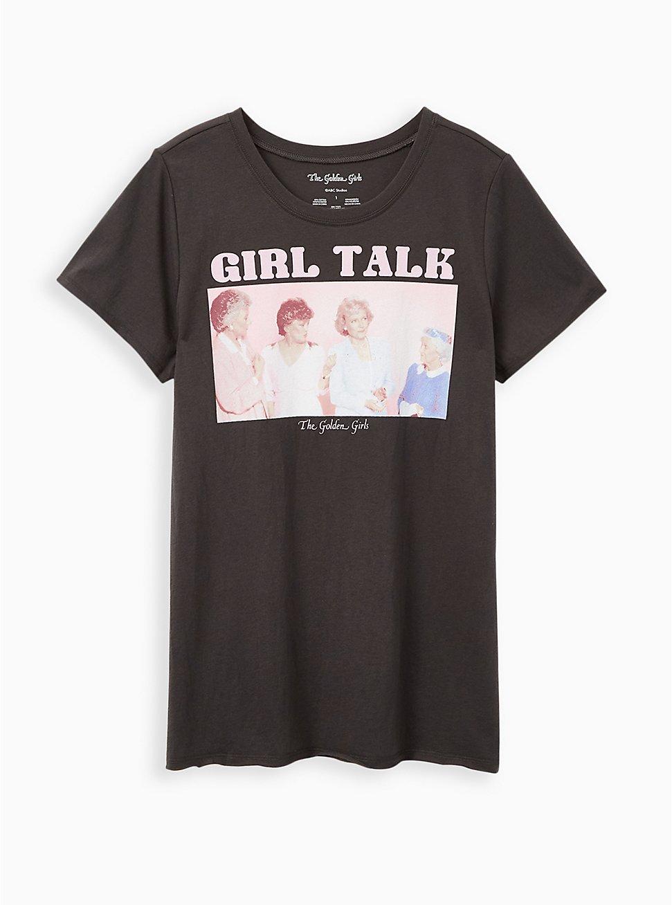 Classic Fit - Golden Girls Vintage Black Crew Tee, VINTAGE BLACK, hi-res