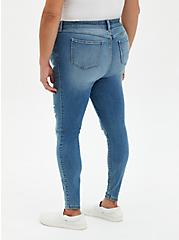 Midfit Super Skinny Jean - Super Soft Light Wash , SALT MARSH, alternate