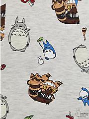 Her Universe Studio Ghibli Totoro Fit & Flare Cardigan Sweater , MULTI, alternate