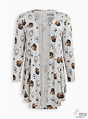 Her Universe Studio Ghibli Totoro Fit & Flare Cardigan Sweater , MULTI, hi-res