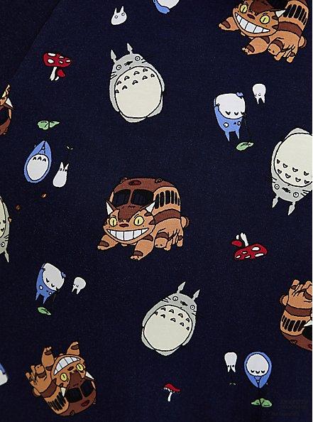 Her Universe Studio Ghibli Totoro Tie-Waist Skater Dress, BLUE, alternate