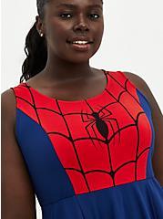Marvel Spiderman Skater Dress, BLUE  RED, alternate