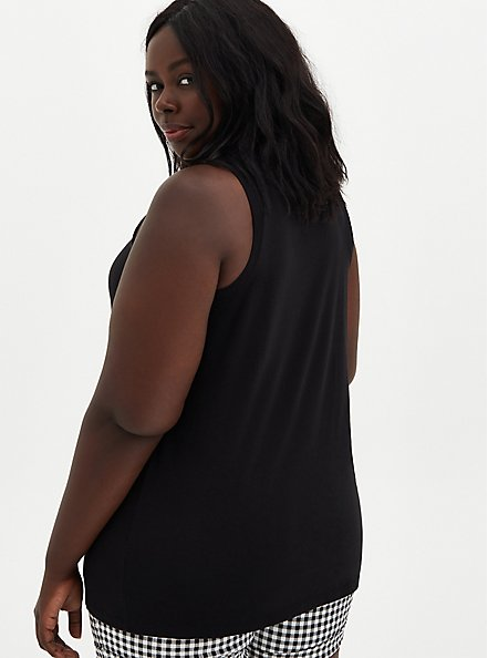 Vintage Tank - Triblend Jersey Black, DEEP BLACK, alternate
