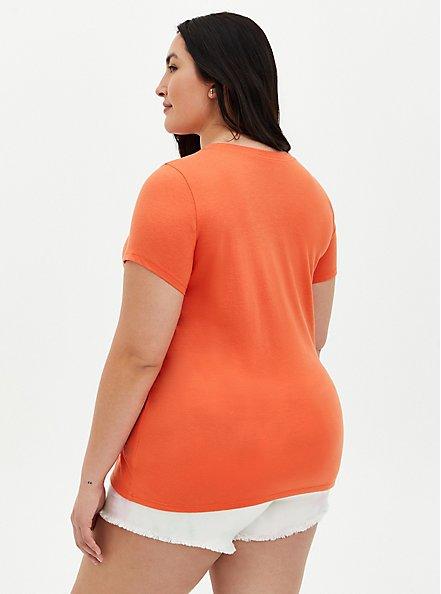 Everyday Tee - Signature Jersey Orange, ORANGE, alternate