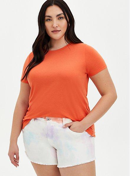Everyday Tee - Signature Jersey Orange, ORANGE, hi-res