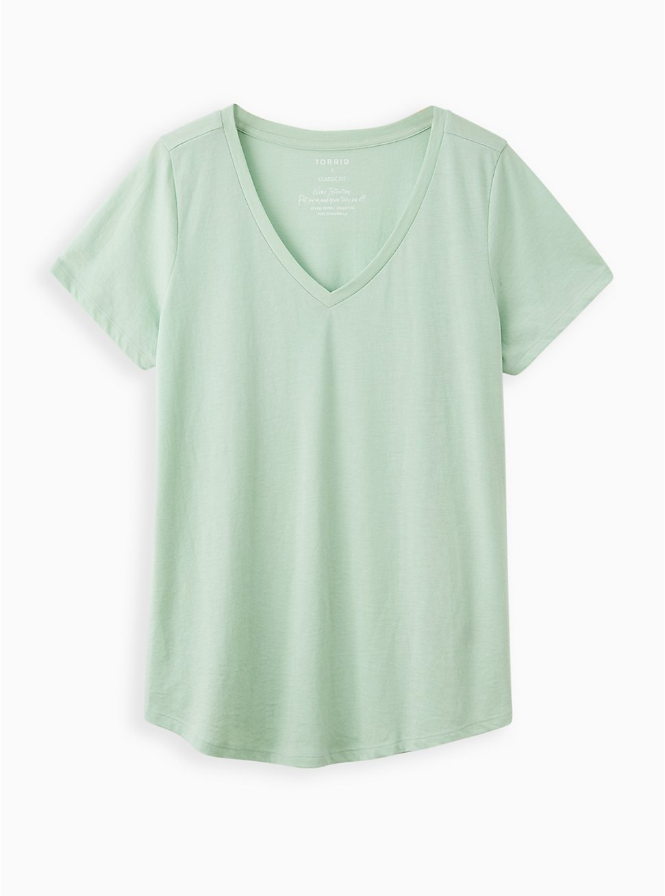 Everyday Tee - Signature Jersey Mint Green , GRAYED JADE, hi-res