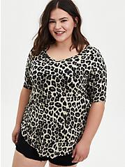 Favorite Tunic - Super Soft Leopard , OTHER PRINTS, hi-res