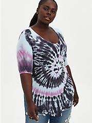 Favorite Tunic - Super Soft Multi Tie-Dye, OTHER PRINTS, hi-res