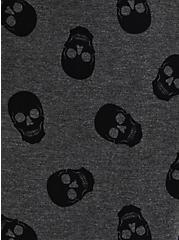 Perfect Crew Tee - Super Soft Skull Grey  , OTHER PRINTS, alternate