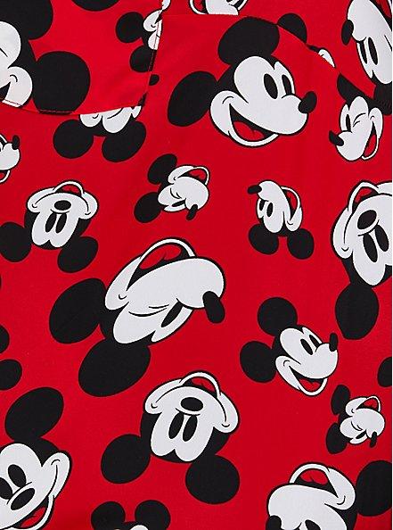 Disney Mickey Mouse Red Harper Pullover Blouse, MULTI, alternate