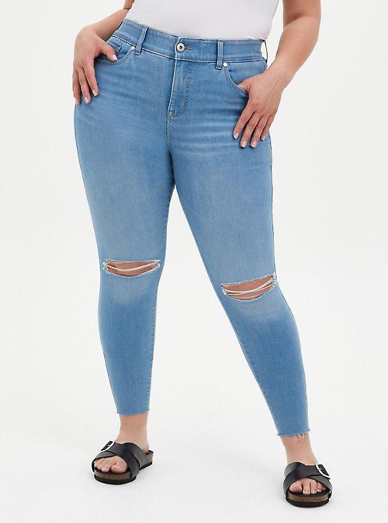 Bombshell Skinny Jean - Super Soft Light Wash, GOOD TIMES, hi-res