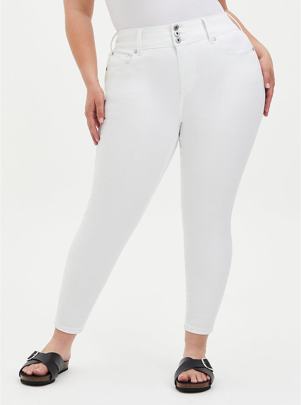 Jegging - Super Soft White , OPTIC WHITE, hi-res