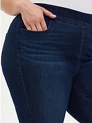 Crop Lean Jean - Super Soft Dark Wash , HYDROSPHERE, alternate