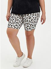Ivory Leopard Bike Short , ANIMAL, alternate