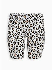 Ivory Leopard Bike Short , ANIMAL, hi-res