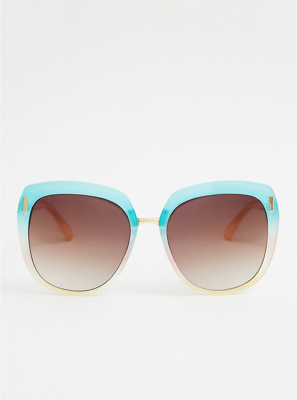 Multi Color Face Square Sunglasses, , hi-res