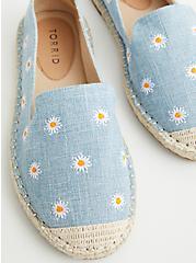 Daisy Canvas Espadrille Flats (WW), BLUE, hi-res