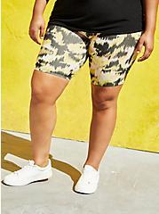 Ikat Camo Printed Bike Short , MULTI, hi-res