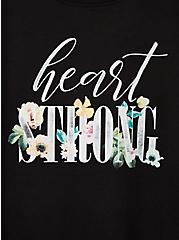#TorridStrong Heart Strong Slim Fit Tee - Black, DEEP BLACK, alternate