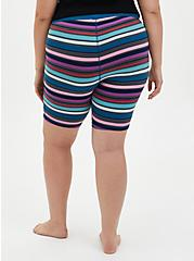 Blue & Purple Stripe Foxy Sleep Short , MULTI, alternate