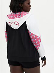 Marvel Spider-Gwen Zip-Up Hoodie, MULTI, alternate