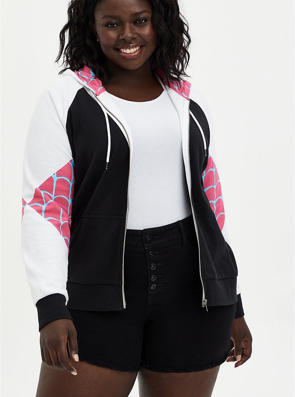 Marvel Spider-Gwen Zip-Up Hoodie, MULTI, hi-res