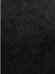 Scoop Neck Tee - Soft-Stretch Challis Black Mineral Wash , DEEP BLACK, alternate
