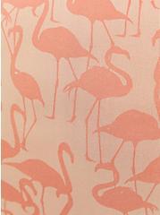 Seamless Boyshort Panty - Flamingo Coral, Flamingo Party- CORAL, alternate
