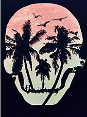 Seamless Brief Panty - Skull Palms Navy, Skull Palms- NAVY, alternate