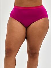 Seamless Brief Panty - My Good Side Pink, My Good Side- PURPLE, alternate