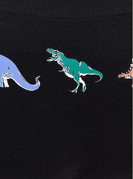 Seamless Hipster Panty - Dinosaurs Black, DINOSAURS-BLACK, alternate