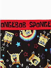 Cotton Cheeky Panty - Nickelodeon SpongeBob SquarePants Rainbow Black, MULTI, alternate