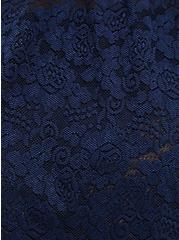 Lace Babydoll - Blue, PEACOAT, alternate