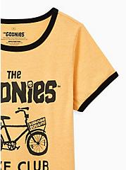 Classic Fit Ringer Tee - Goonies Bike Yellow, GOLDEN YELLOW, alternate