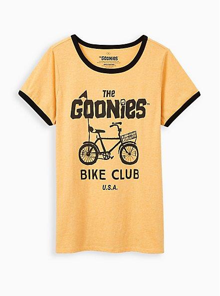 Classic Fit Ringer Tee - Goonies Bike Yellow, GOLDEN YELLOW, hi-res