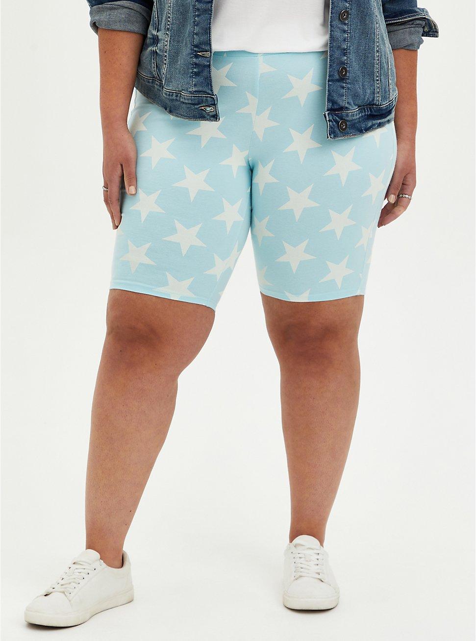 Blue & White Stars Short, MULTI COLOR, hi-res