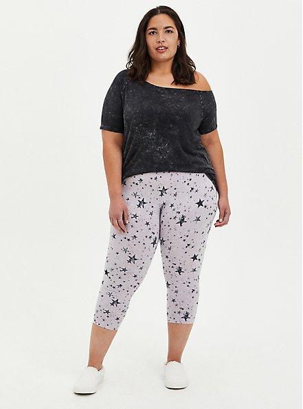 Capri Premium Legging - Star Print, MULTI, alternate