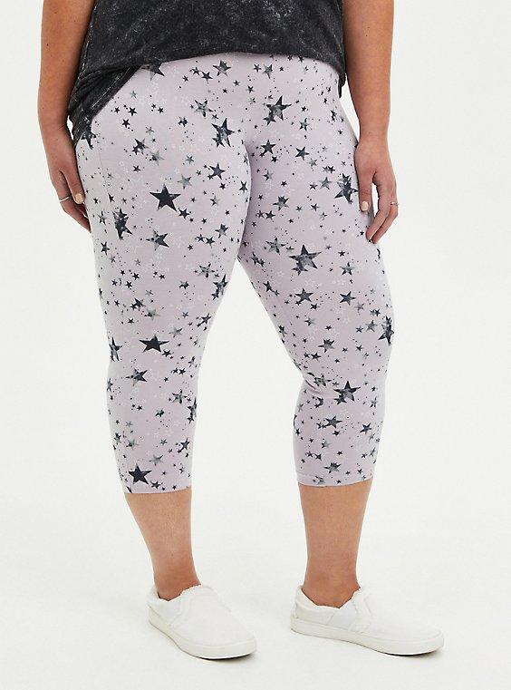 Capri Premium Legging - Star Print, , hi-res